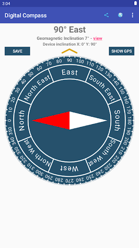 Digital Compass screenshot 1
