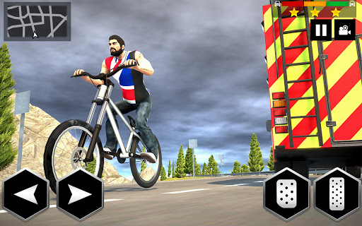 Mountain Bike Simulator 3D screenshot 3