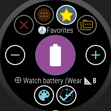 Bubble Cloud Tile Launcher / Watchface (Wear OS) screenshot 31