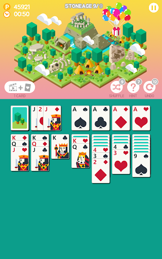 Age of solitaire screenshot 2
