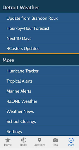 WDIV Local4Casters Weather screenshot 8