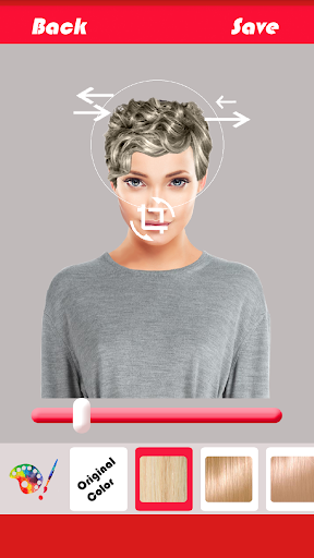 Change Hairstyle screenshot 5