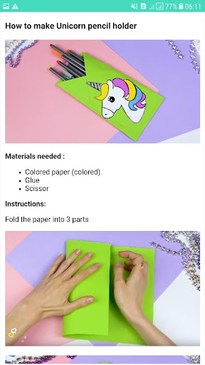 How to make school supplies 🌈🌈 screenshot 6