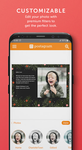 Postagram: Send Custom Photo Postcards screenshot 4