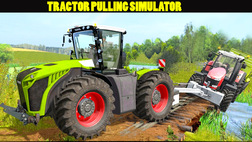 Tractor Pull & Farming Duty Game 2019 screenshot 2
