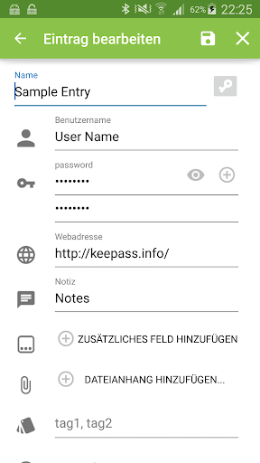 Keepass2Android 屏幕截图 3