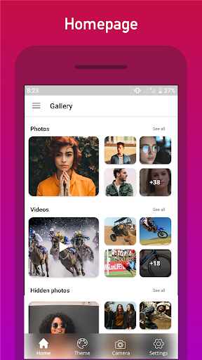 Gallery, Photo Editor and Collage maker screenshot 5