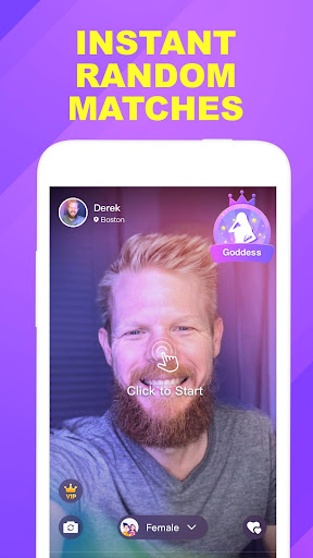 Wink - fun video chat, video call, match new ppl screenshot 1