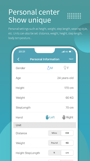 Wearfit screenshot 8