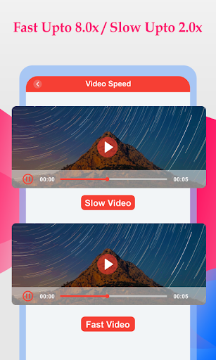 Slow And Fast Video Maker 屏幕截图 2
