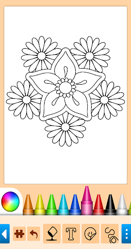 Coloring game for girls and women screenshot 15