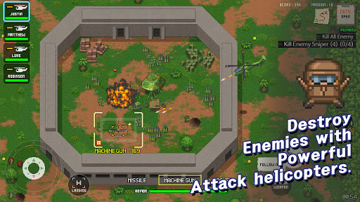 Team SIX - Armored Troops screenshot 1