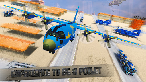 Police Car Transport Truck:New Car Games 2020 screenshot 2