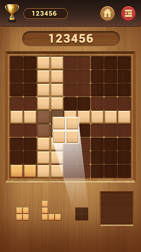 Wood Block Sudoku Game -Classic Free Brain Puzzle screenshot 2