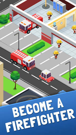 Idle Firefighter Tycoon - Fire Emergency Manager screenshot 2