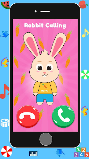 Baby Real Phone. Kids Game screenshot 2