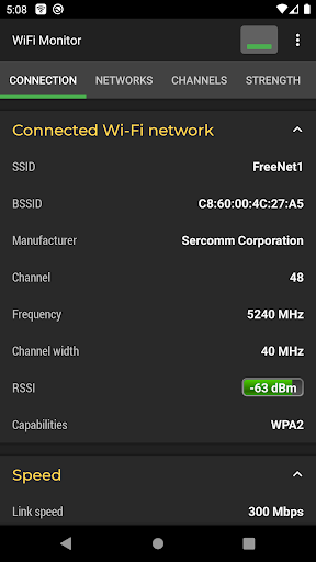 WiFi Monitor screenshot 1