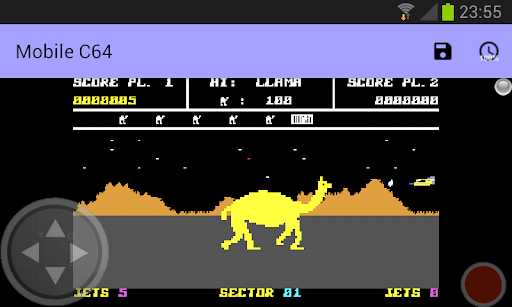 Mobile C64 screenshot 4