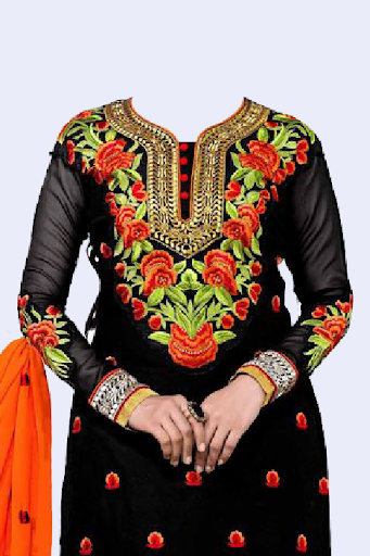 Salwar Suit Photo Making screenshot 2