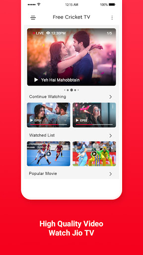 Free Jio TV HD Channels Guide screenshot 2