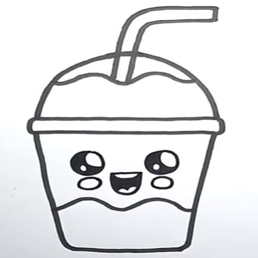 How To Draw Cute Sweet Drinks screenshot 6