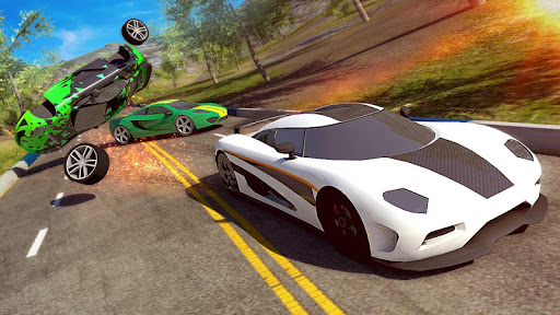 Extreme Top Speed Super Car Racing Games screenshot 1