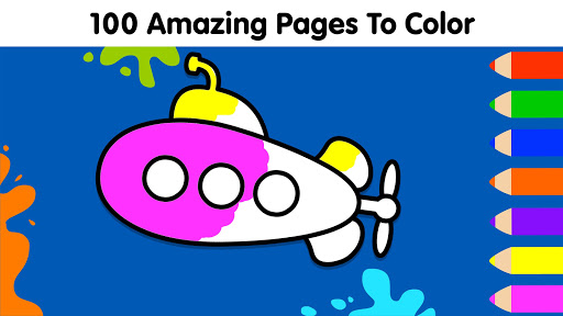 Coloring Games for Kids: Baby Drawing Book & Pages screenshot 13