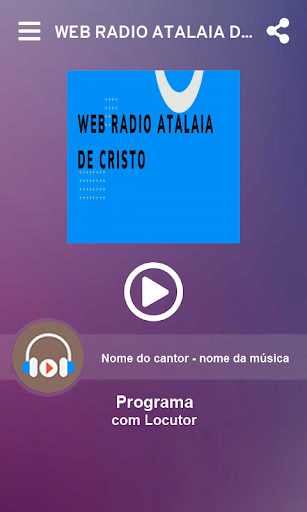 WEB RADIO ATALAIA DE CRISTO screenshot 2