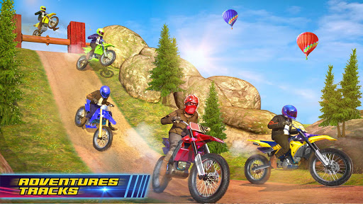 Motocross Dirt Bike Stunt Racing Offroad Bike Game screenshot 12