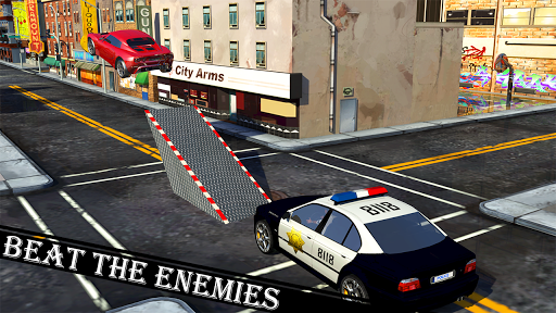 Police Car Stunt screenshot 1