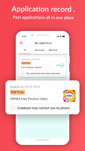 Moovup: Front-line jobs search & match in HongKong screenshot 5