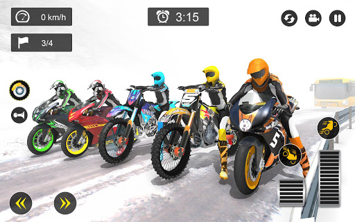 Snow Mountain Bike Racing 2019 screenshot 2