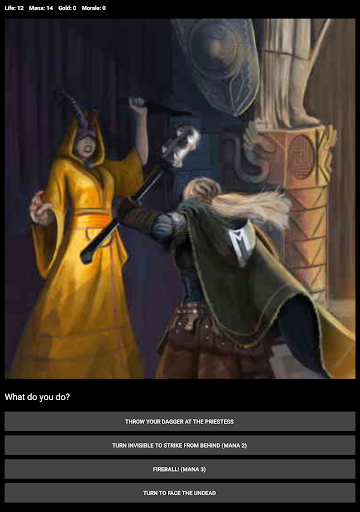 D&D Style Medieval Fantasy RPG (Choices Game) screenshot 13