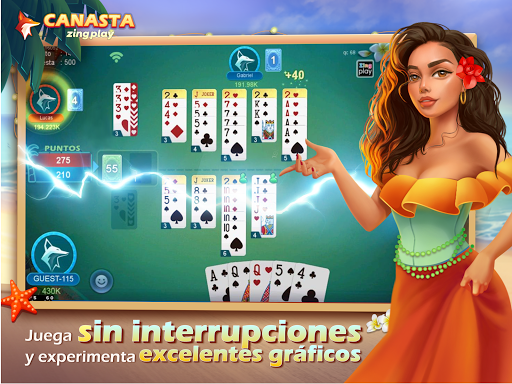 Canasta ZingPlay screenshot 2