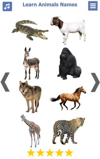 Learn Animals Name Animal Sounds Animals Pictures tangkapan layar 5