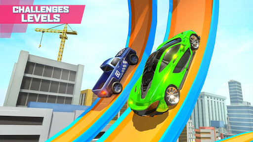 Mega Ramp Car Stunts screenshot 4