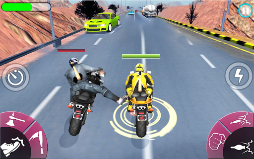 New Bike Attack Race screenshot 1