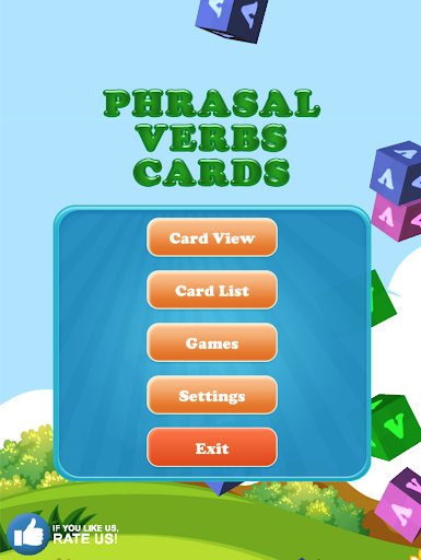 Phrasal Verbs Cards with Games screenshot 1