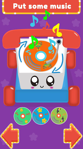 Baby Carphone Toy. Kids game screenshot 3