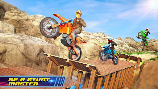 Motocross Dirt Bike Stunt Racing Offroad Bike Game screenshot 10