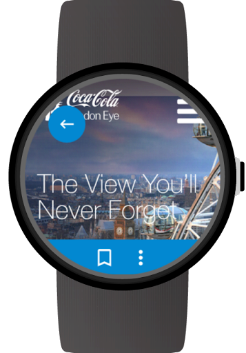 Web Browser for Wear OS (Android Wear) screenshot 5