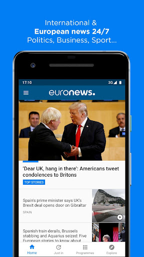 Euronews screenshot 1