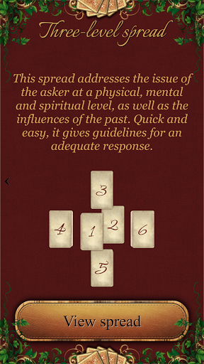 Tarot Madame Lenormand screenshot 2