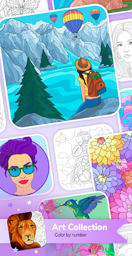 Art Collection Color by Number screenshot 1