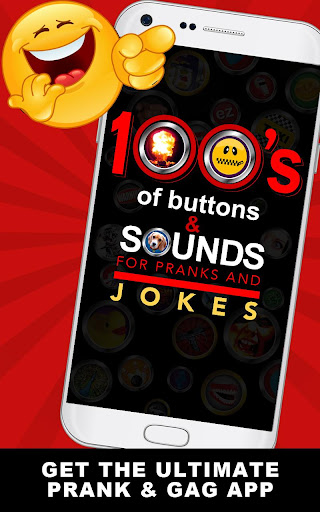 100's of Buttons & Sounds for Jokes and Pranks screenshot 1