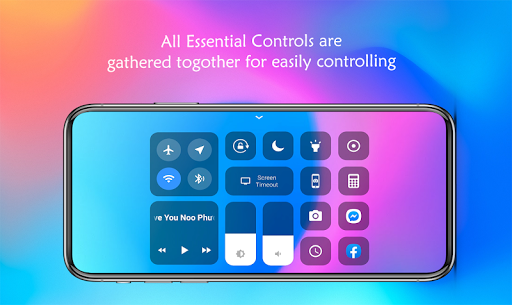iOS Control Center for Android (iPhone Control) screenshot 2