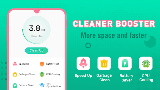 Clean Booster-Master of Cleaner, Phone Booster screenshot 1