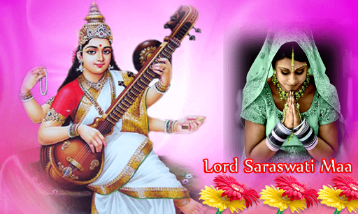 God Saraswati Maa Photo Frames screenshot 5