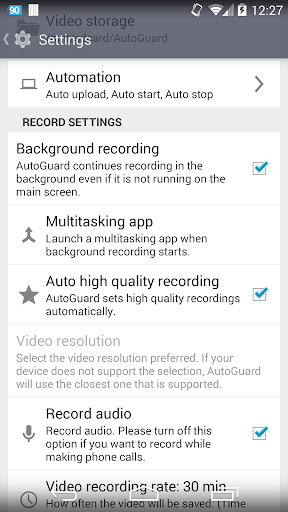 AutoGuard Dash Cam screenshot 7
