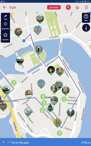 Stockholm city guide screenshot 9